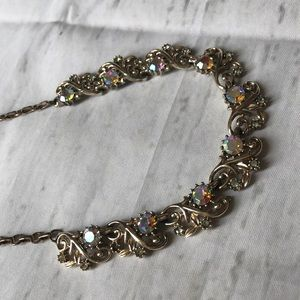 True vintage CORO AB necklace